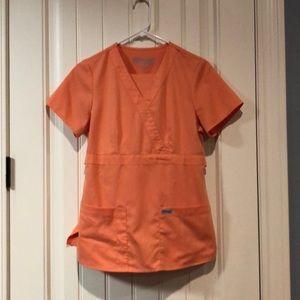 Grey's Anatomy orange scrub set sm